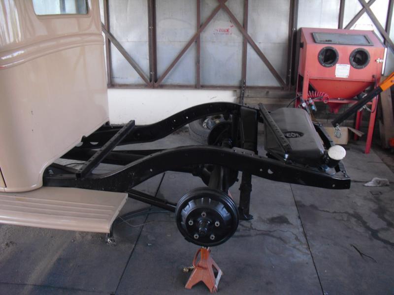Cadillac Floor Pan 1936