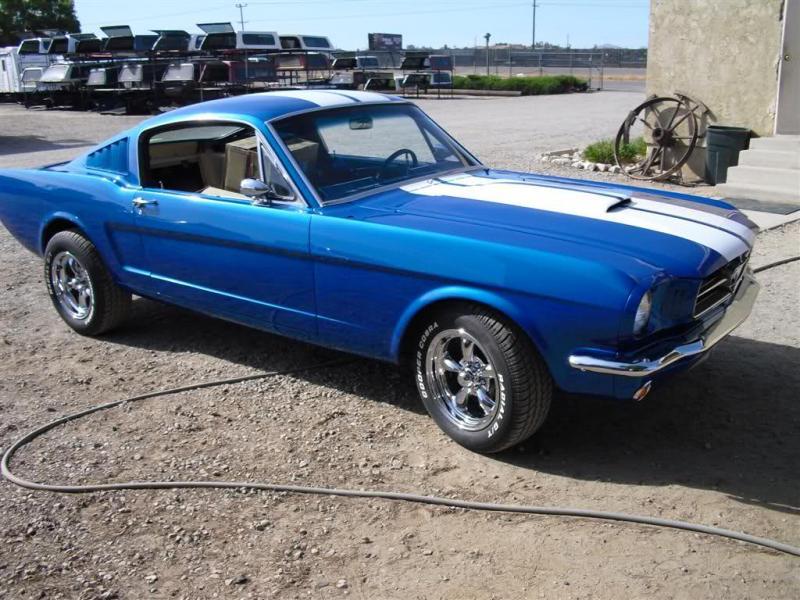 Fastback Mustang Restoration 1965 Mustang Fastback