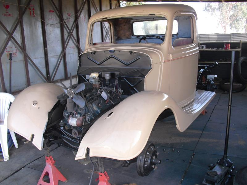 1970 Chevy Pickup >> Ultimate camper shells car and truck aftermarket parts and restoration - 1936 Ford pickup